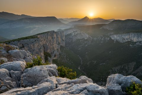 Gorges du Verdon at sunrise